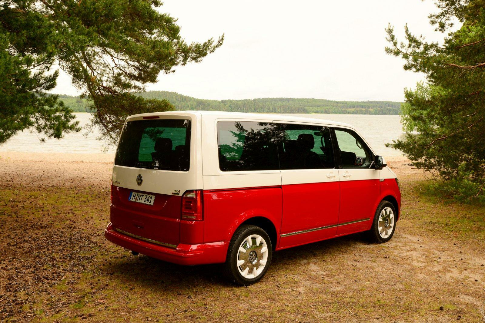 Multivan Volkswagen File Vw Multivan Tdi T5 Facelift Rear