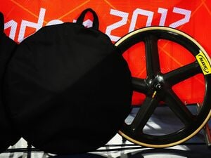 Mavic or Magic? The French Cycling Association questioned whether the wheels used by Team GB (pictured) were in fact produced by Mavic. Foto: