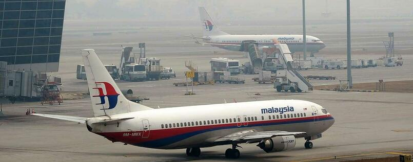 Flugzeug der Malaysia Airlines.