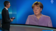 Angela Merkel im ARD-Interview mit Ingo Zamperoni