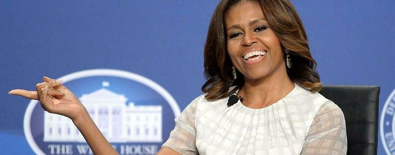 Michelle Obama, die First Lady der USA.