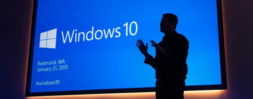 Microsoft-Manager Terry Myerson ist der Mann hinter Windows 10.