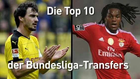 Mit Hummels und Sanches: Die Top-Ten-Transfers der Bundesliga