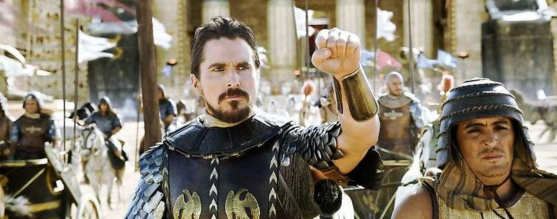 So sehen Sieger aus. Moses (Christian Bale).