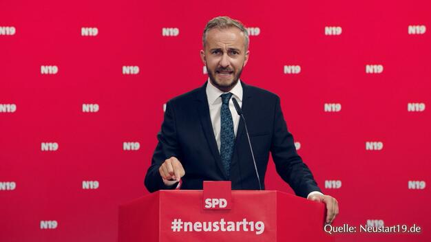 Saleh, Satire, SPD ... Smiley!