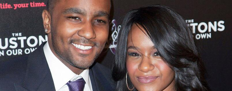 Bobby Brown mit Tochter Bobbi Kristina Brown.