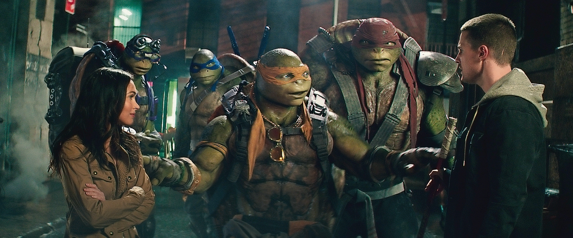 "Teenage Mutant Ninja Turtles - Out of the Shadows"": Schildkröten aus ..."