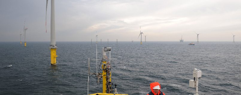 "Offshore-Windpark ""Alpha Ventus"" komplett"