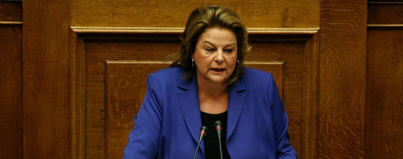 Louka Katseli, chairwoman of the National Bank of Greece, sees chances for greek economy and its banks after an agreement with the lenders