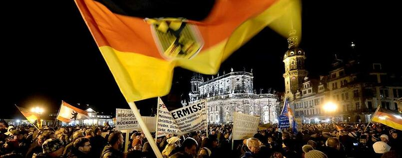 """Pegida""-Demonstration in Dresden"