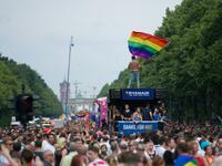 Christopher Street Day 2016 in Berlin.