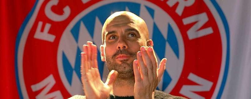 Bayern-Trainer Pep Guardiola.