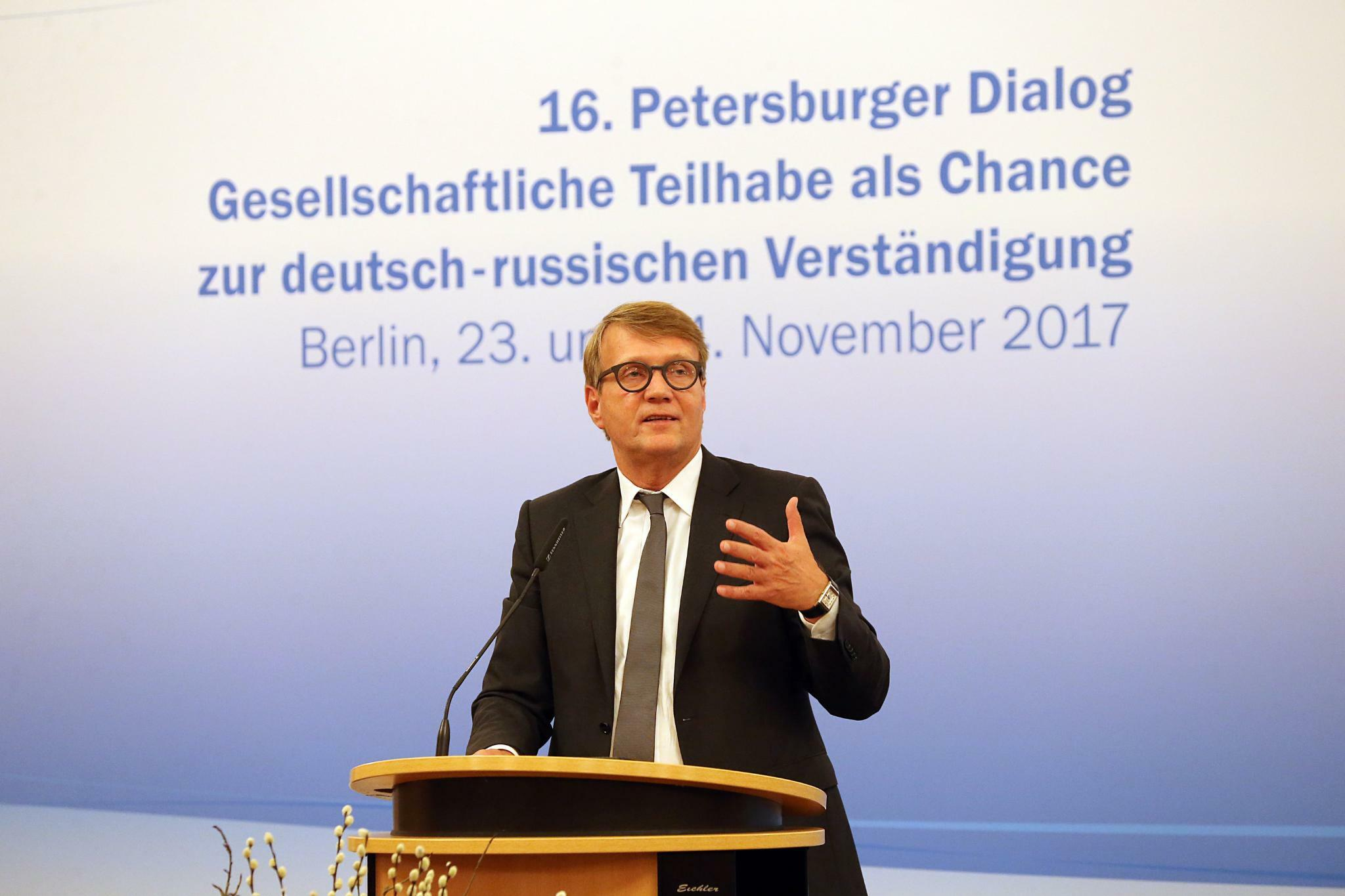 Deutsch-russisches Diskussionsforum: 16. Petersburger Dialog startet in Berlin