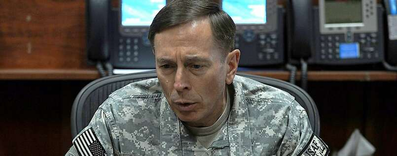 US-General David Petraeus führt die Nato-Truppen in Afghanistan.