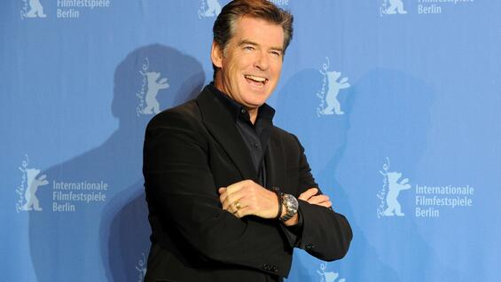 "2010 war Pierce Brosnan für den Film ""The Gost Writer"" in Berlin. Dieses Jahr wird er zu ""A Long Way Down"" erwartet."