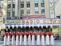 Die Radio City Music Hall in New York.