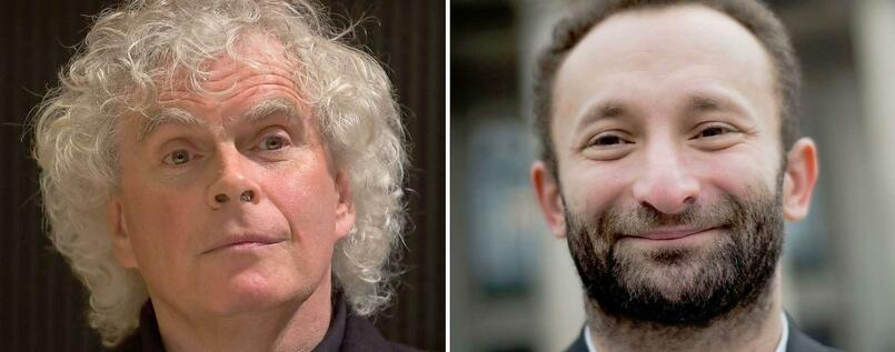 Simon Rattle und Kirill Petrenko.