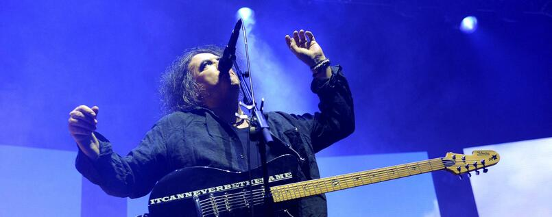 Robert Smith von The Cure.