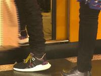 Run auf BVG-Sneaker in Berlin