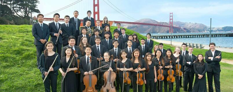Das San Francisco Youth Symphony Orchestra