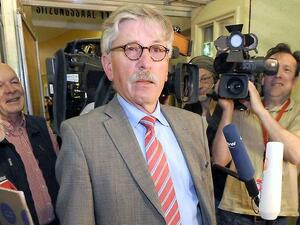 Thilo Sarrazin 2011, en route to his SPD party planning process Photo: Tim Meier Brake / dpa