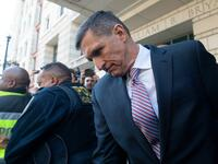 Trumps Ex-Sicherheitsberater Michael Flynn am Dienstag in Manhattan.