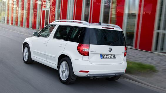 test fahrbericht skoda yeti 2 0 tdi elegance. Black Bedroom Furniture Sets. Home Design Ideas