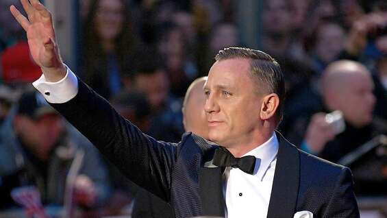 Die Hauptperson des Premierenabends in London: Daniel Craig alias James Bond.