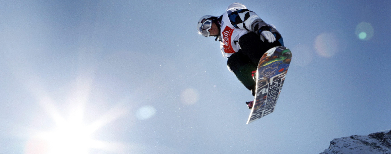 Snowboard-Halfpipe Weltcup - Mathieu Crepel