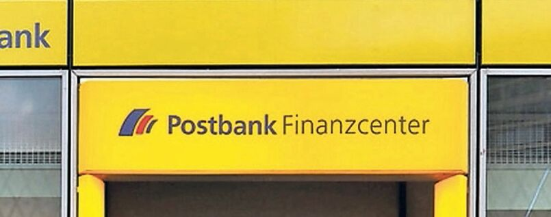 Eine Postbank-Filiale in Berlin.