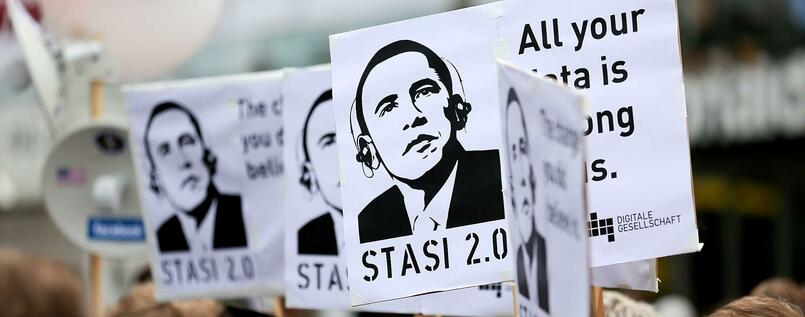 "Anti-NSA-Protest: Angst vor der ""United Stasi of America"""