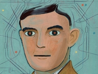 Alan Turing in Robert Deutschs Graphic Novel