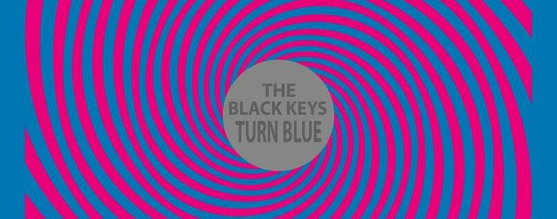 "Albumcover von The Black Keys: ""Turn Blue""."