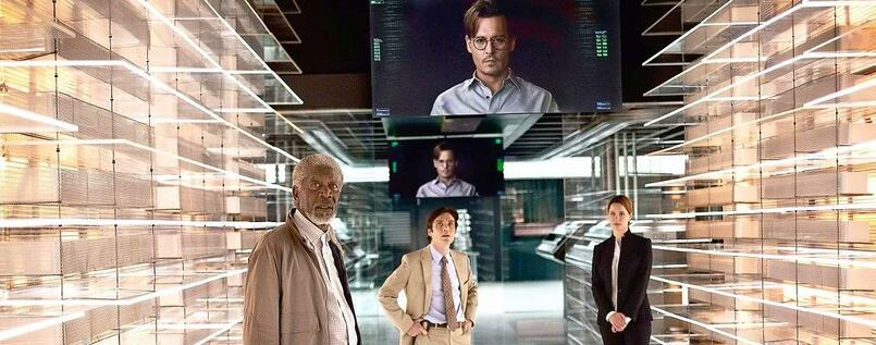 "Verblüffend retro: Wally Pfisters Sci-Fi-Thriller ""Transcendence""."