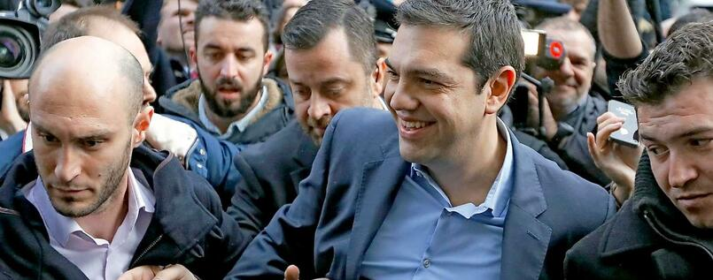 Der Wahlsieger. Syriza-Chef Alexis Tsipras.