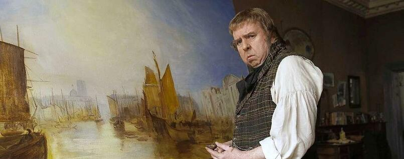 "Derb und direkt: Timothy Spall als der englische Maler William Turner in Mike Leighs Filmbiografie ""Mr. Turner""."