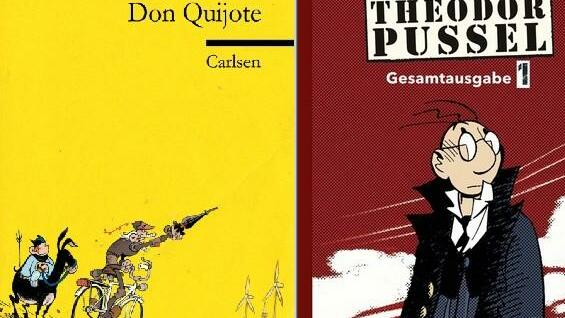 "In den Top 5: ""Don Quijote"" und ""Theodor Pussel""."
