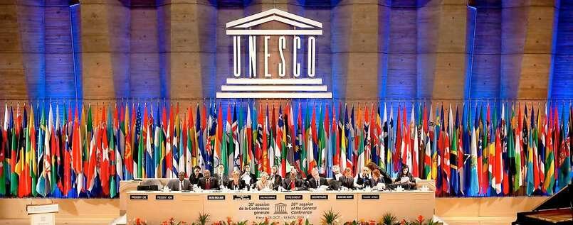 Generalkonferenz der Unesco in Paris.