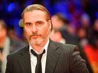"Joaquin Phoenix bei der Premiere von Gus Van Sants Film ""Don't Worry, He Won't Get Far on Foot""."
