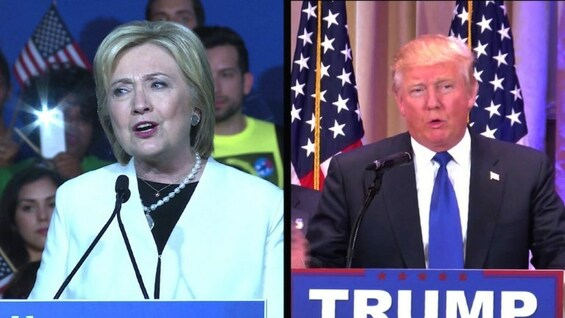 USA: Trump und Clinton dominieren den 'Super Tuesday'
