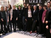 Der Vogue Salon während der Berliner Fashion Week. Foto: Tsp