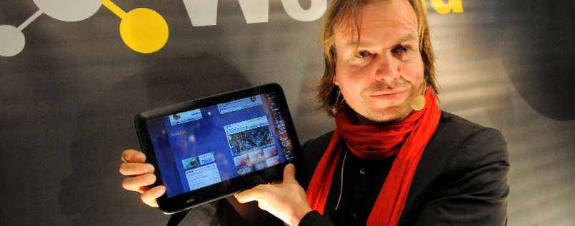"Vorstellung des Tablet-Computers ""WePad"""