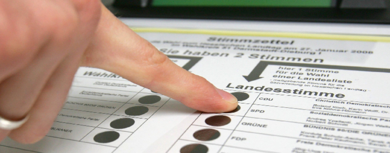 Wahlcomputer in Hessen