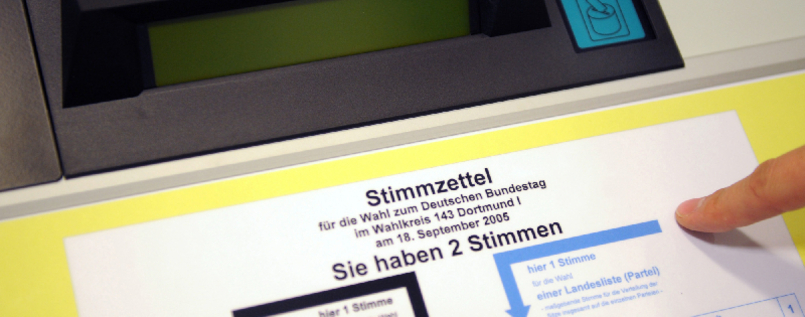 Wahlmaschine Wahlcomputer
