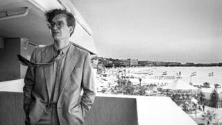 Wim Wenders in Cannes 1982.