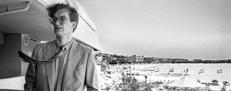 Wim Wenders in Cannes 1982