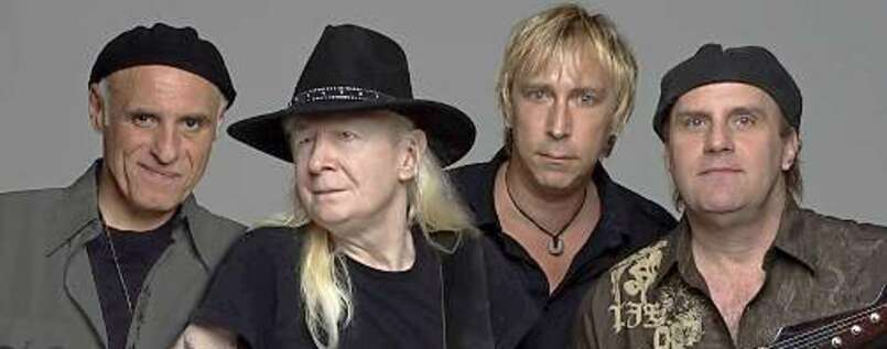 Johnny Winter und seine Crew.