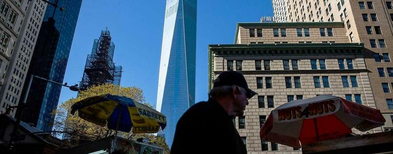 Ein Gebäude der Superlative: 104 Stockwerke hoch, 3,9 Milliarden Dollar teuer - das neue One World Trade Center in Manhattan.