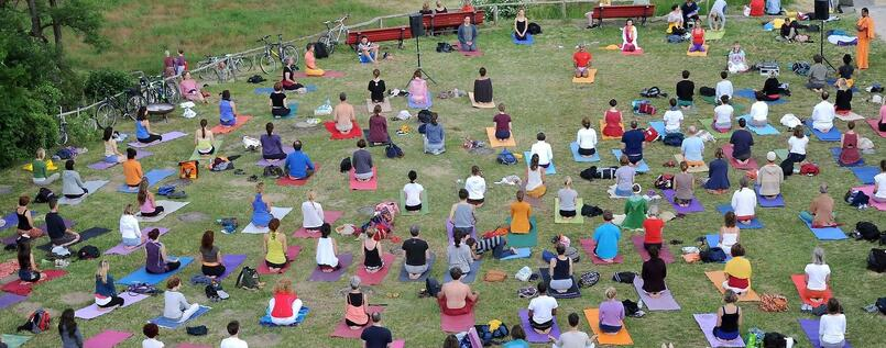 Yoga-Festival in Berlin