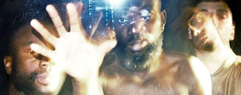 Kayus Bankole, Alloysious Massaquoi und Graham Hastings sind die Young Fathers.